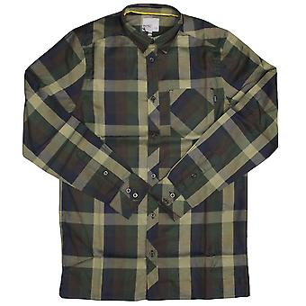 WeSC Darcy L/S Shirt Dark Chocolate