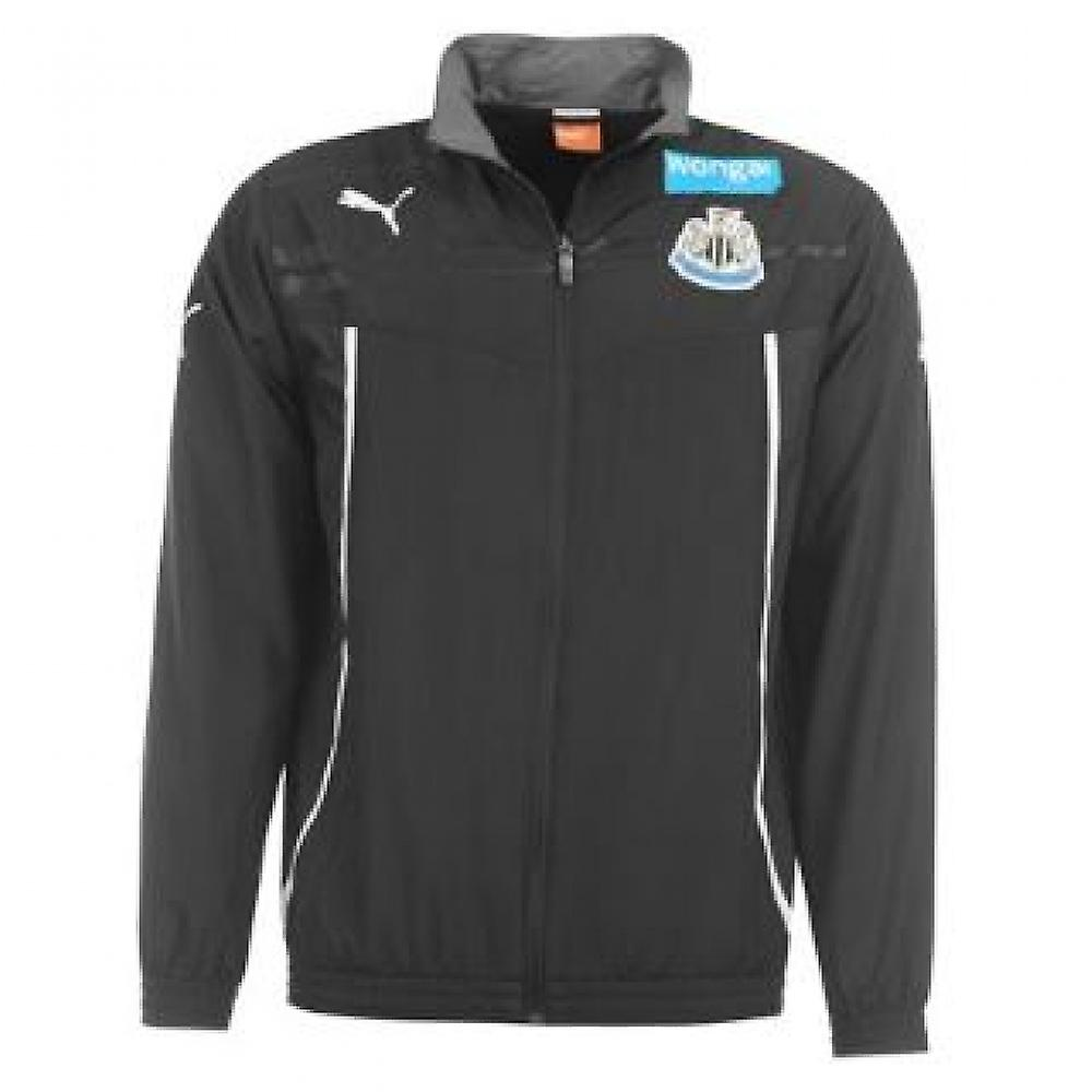 2013-14 Newcastle Puma geweven jas (zwart) - Kids