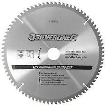 Silverline TCT disc for aluminum, 80 teeth 250x30