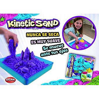 Bizak Kinetic Sand Castle Playset