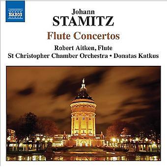 J. Stamitz - Johann Stamitz: Fløjte koncerter [CD] USA import