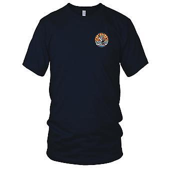 US Coast Guard USCG-WHEC-65 Wanona Owasco klasse høy utholdenhet kutter brodert patch-versjon A Kids T skjorte
