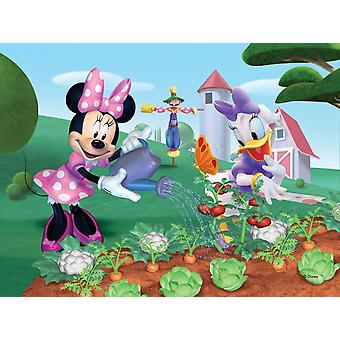 Minnie Mouse 4-in-1 Shaped Jigsaw Puzzles (4 - 20 Pieces)