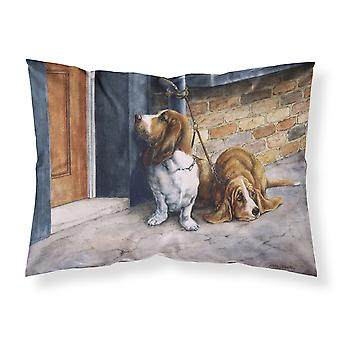 Bassets Basset Hound Fabric Standard Pillowcase