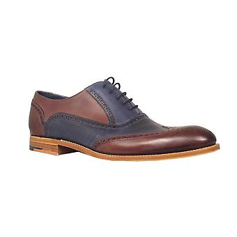 Barker Mens Shoe Valiant Navy