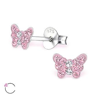 Butterfly crystal from Swarovski® - 925 Sterling Silver Children's Jewellery