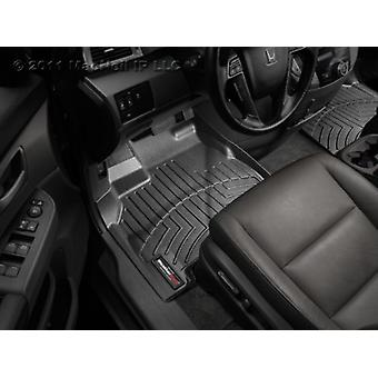 WeatherTech Custom Fit Front FloorLiner voor Honda Civic, zwart