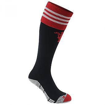 2015-2016 Man Utd Adidas Home Socks (Black)