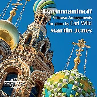 Bach, J.S. / importación de Jones - Virtuoso arreglos para Piano de Estados Unidos Earl Wild [CD]