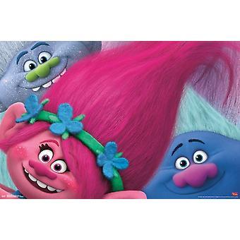 Trolls - Hair Poster Print by