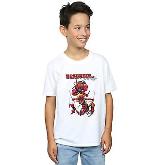 Marvel Boys Deadpool Family T-Shirt