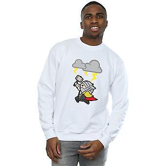 Bewundern Sie Herren Kawaii Thor Gott des Donners Sweatshirt