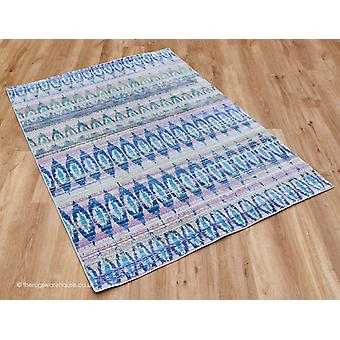 Noor blau Teppich