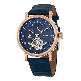 Burgmeister BM244-333Thalwil, Gents automatic watch, Analogue display - Water resistant, Stylish leather strap, Classic men's watch