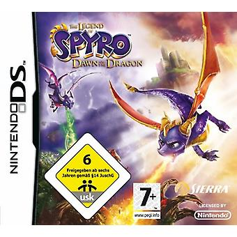 The Legend of Spyro Dawn of the Dragon (Nintendo DS)