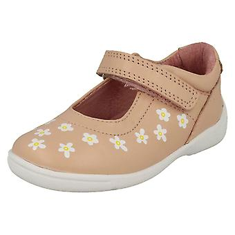Girls Startrite Casual Flat Shoes Shine - Pink Leather - UK Size 8.5G - EU Size 26 - US Size 9.5