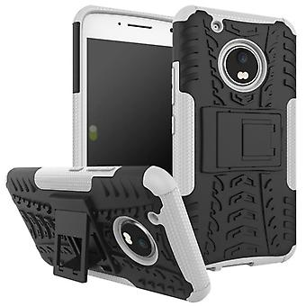 Hybrid case 2 piece SWL outdoor white for Lenovo Moto G5 plus bag case cover protection