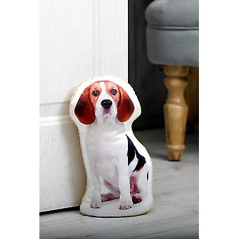 Adorable beagle shaped doorstop