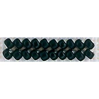 Mill Hill Frosted Glass Seed Beads 2.5mm 4.25g-Black
