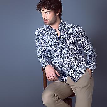 Fabio Giovanni Capertino Shirt - Mens Italian Casual Stylish Shirt - Long Sleeve