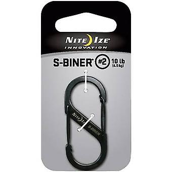 Przyciągaj hak NITE Ize S-Biner Gr. 2 NI-SB2-03-01 1 szt.