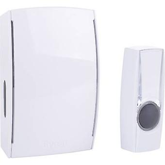 Byron BY511E Wireless door chime Complete set backlit, with nameplate
