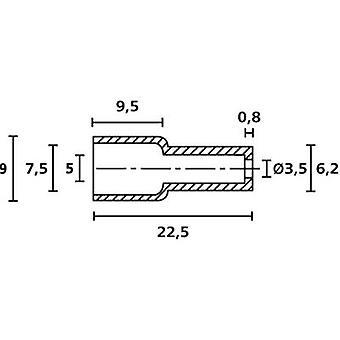 HellermannTyton OP4827 PE NA 2000 protectora casquillo Terminal Ø (máx.) 7,5 mm polietileno (PE) transparente 1 PC