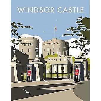 Windsor Castle Guards Fridge Magnet