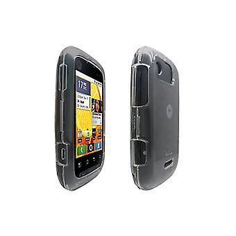 OEM Verizon Motorola Citrus WX445 Snap-On cas (clair) (emballage en vrac)