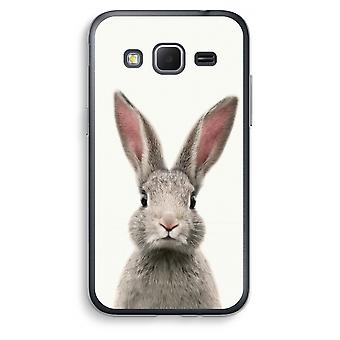 Samsung Galaxy Core Prime Transparent Case (Soft) - Daisy