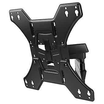 One For All WM4451 Black 32-60 inch Wall Mount TV Bracket Turn 180 Solid Series