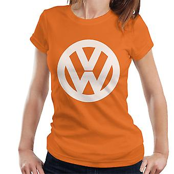 Official Volkswagen Classic White VW Logo Women's T-Shirt