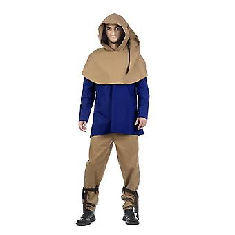 Medieval Squire Jakob mens costume peasant servant men's costume