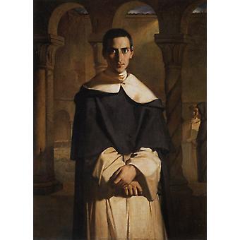 Father Dominique Lacordaire,Theodore Chasseriau,60x40cm