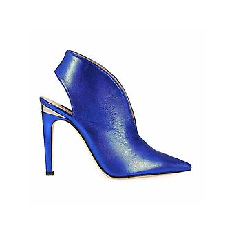 PINKO LAMINATED BLUE GEMINI PUMP