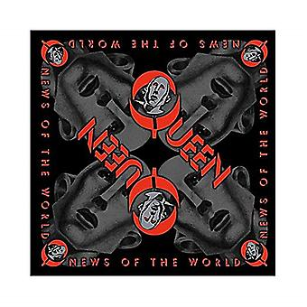 Queen News Of The World cotton bandana 550mm x 550mm (rz)