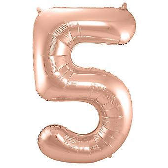 Nummer 5 ballong steg antallet ballong ballong antall ca 86 cm