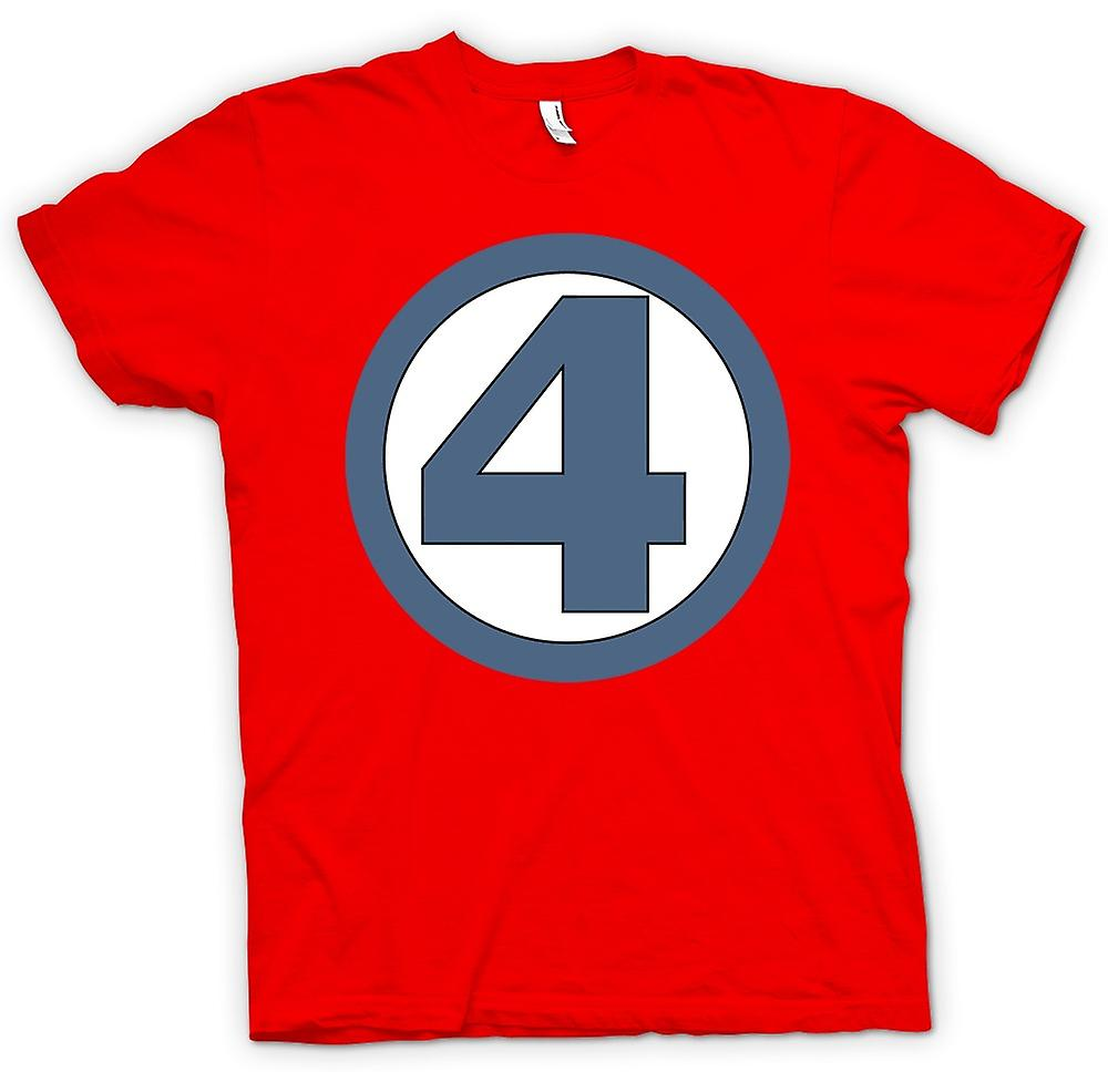 Mens T-shirt - Fantastic 4 Logo - Superhero
