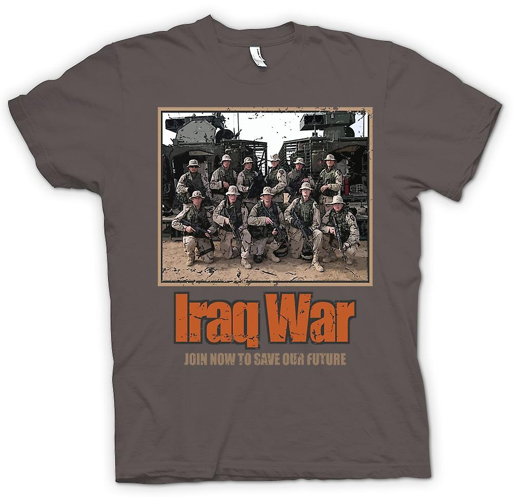 Womens T-shirt - Iraq War - Join Now To Save Our Future