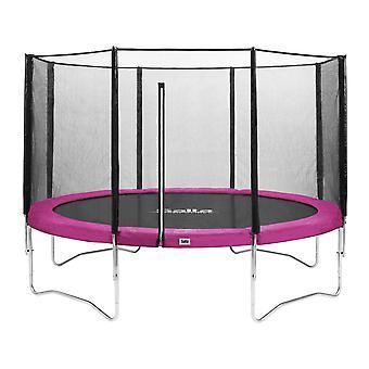 Salta Combo trampoline met veiligheidsnet ⌀251 cm - roze