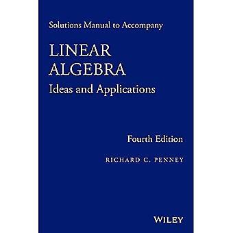 Lösungen Handbuch, lineare Algebra zu begleiten: Ideen und Anwendungen
