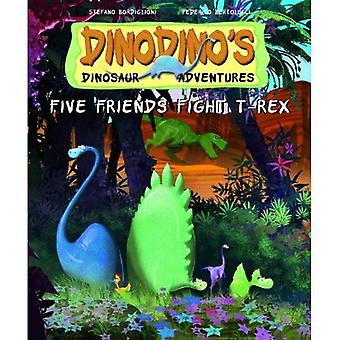Five Friends Fight T-Rex