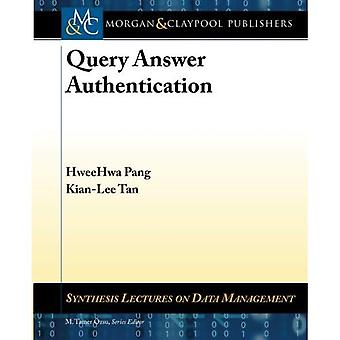 Query Answer Authentication