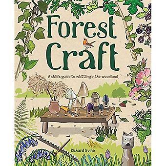 Craft de la forêt: Guide un enfant à tailler dans le bois