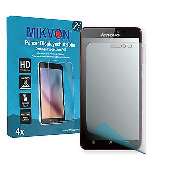 Lenovo S850 Screen Protector - Mikvon Armor Screen Protector (Retail Package with accessories)