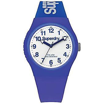 SUPERDRY Quartz analogue watch Unisex Silicone wrist watch SYG164U