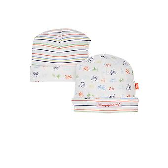 Magnetic Me™ by Magnificent Baby Boy Cotton Reversible Hat