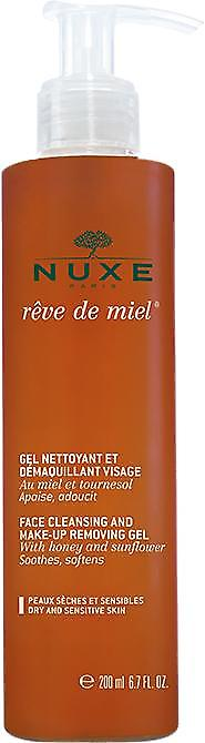 Nuxe Rêve de Miel Face Cleansing & Makeup Removing Gel