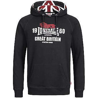 Lonsdale mens hooded sweater Bassingham