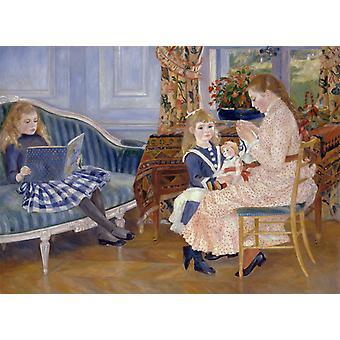 Children-s Afternoon at Wargemont,Pierre-Auguste Renoir,50x37cm